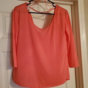 Coral light weight top